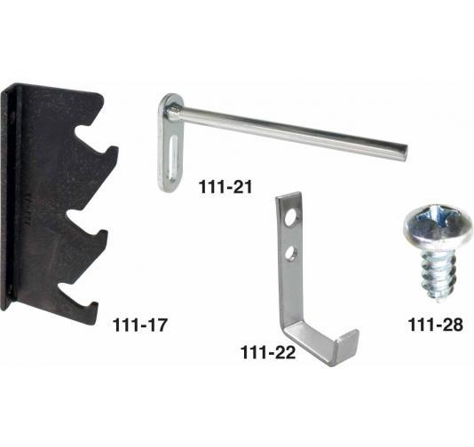7,5 /Ø x 90 mm inkl Befestigungsschraube f/ür Beton Torx 30 Bit f/ür Fenster//T/ür//Schrauben